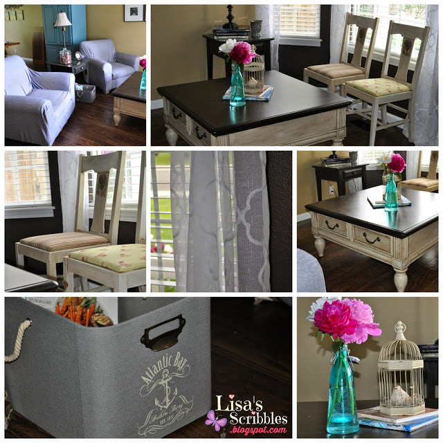 project of the day living room makeover part 5 lisa 39 s scribbles