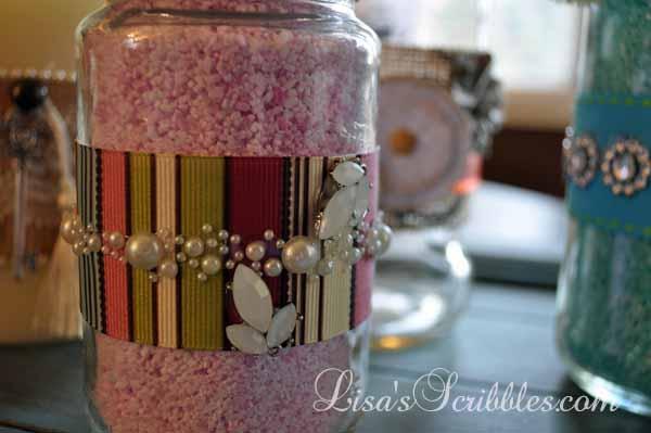 DIY Christmas – Upcycling Glass Jars
