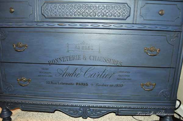 One Jaw-dropping Dresser Makeover – French Country Style