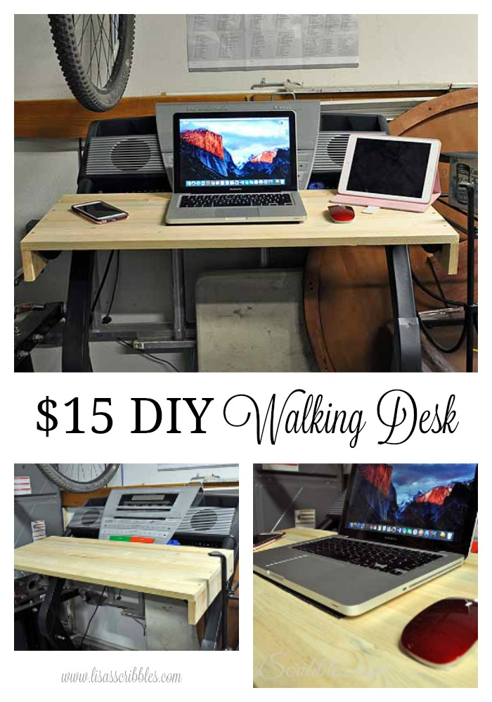 $15 DIY Walking Desk
