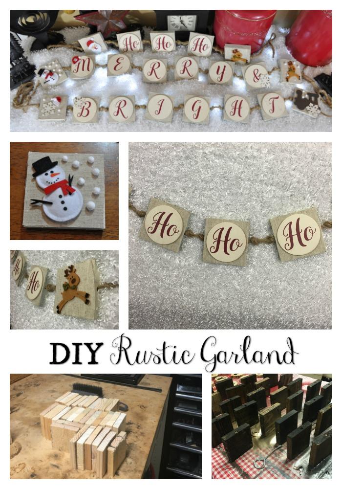 DIY Rustic Garland